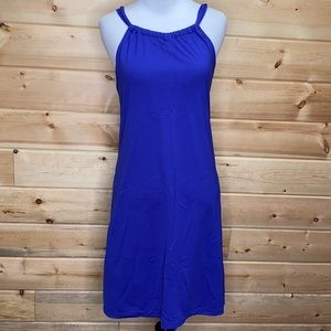 Athleta Kokomo Royal Blue Swim Dress #739779 XS